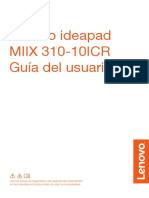 Manual usuario Miix 310-10icr Ug Es