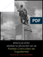 Sobre la situación en el Partido Comunista de Yugoslavia - Kominform VVAA.pdf