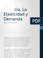 Elasticidad, precio y demanda