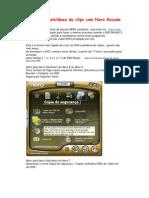 Criar DVD coletânea de clips com Nero Recode 2