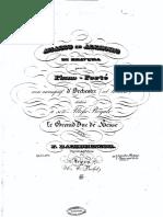 Friedrich Kalkbrenner - Adagio ed Allegro di Bravura
