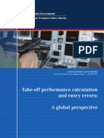 Take-Off Performance Calculation and Entry Errors