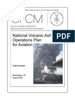 National Volcanic Ash Operations Plan for Aviation