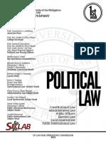 2013 UP BOC - Political Law