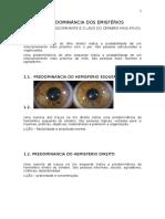 Apostila de Iridologia - Módulo II - Orientação Profissional