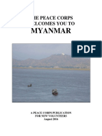 Peace Corps Myanmar Welcome Book 2016