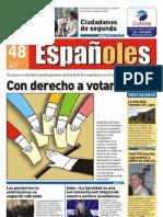 Revista Españoles Nº 48, Mayo 2010
