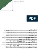 WEDDING MARCH Harmonie Bb-Conducteur_et_parties