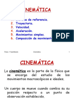 1 Cinematica