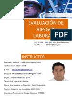 2.- Evaluación de Riesgos Laborales