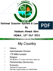 Disaster Laws in Pakistan - Nadeem Ahmed Abro.ppt