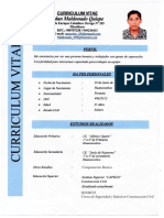 CV listo