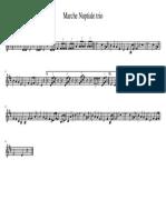 Marche Nuptiale trio-Trompette_en_Si♭