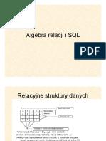Algebra relacji i SQL