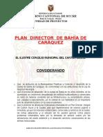 Ordenanza Plan Director de Bahia de Caraquez