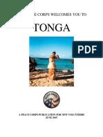 Peace Corps Tonga Welcome Book 2015