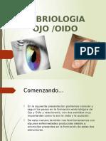 Embriologia Ojo-oido Clase I