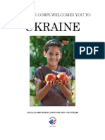 Peace Corps Ukraine Welcome Book 2015