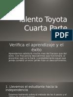 Cuarta Parte Talento Toyota