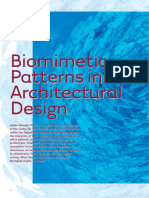 Biomimetic Patterns in Architectural Design