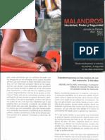 Transformaciones en El Modo de Ser Malandro / Andrés Antillano