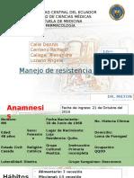 Manejo de La Resistencia Bacteriana -HEG Tercer Grupo