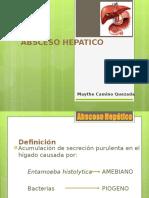 abceso hepatico