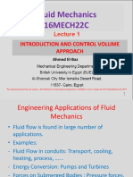 Lecure 1 Fluid Mechanics