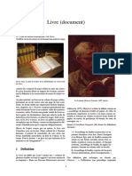 Livre (Document)