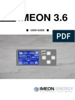 User Guide IMEON 3.6 En