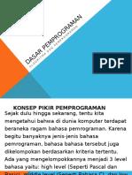 DDP Konsep Pemprograman