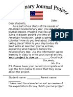 revolutionary journal project
