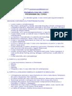 Fenomenologia Del Corpo Programma Bibliografie Calendari