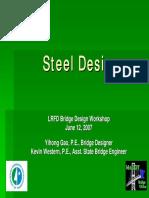 Steel Beam Design-LRFD