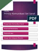FAAL – Prinsip Komunikasi Sel Saraf
