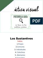 Gramática visual - Los Sustantivos