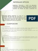 Materiales Ópticos y Optoelectrónicos