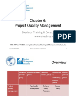 6. PMF-project Quality Management