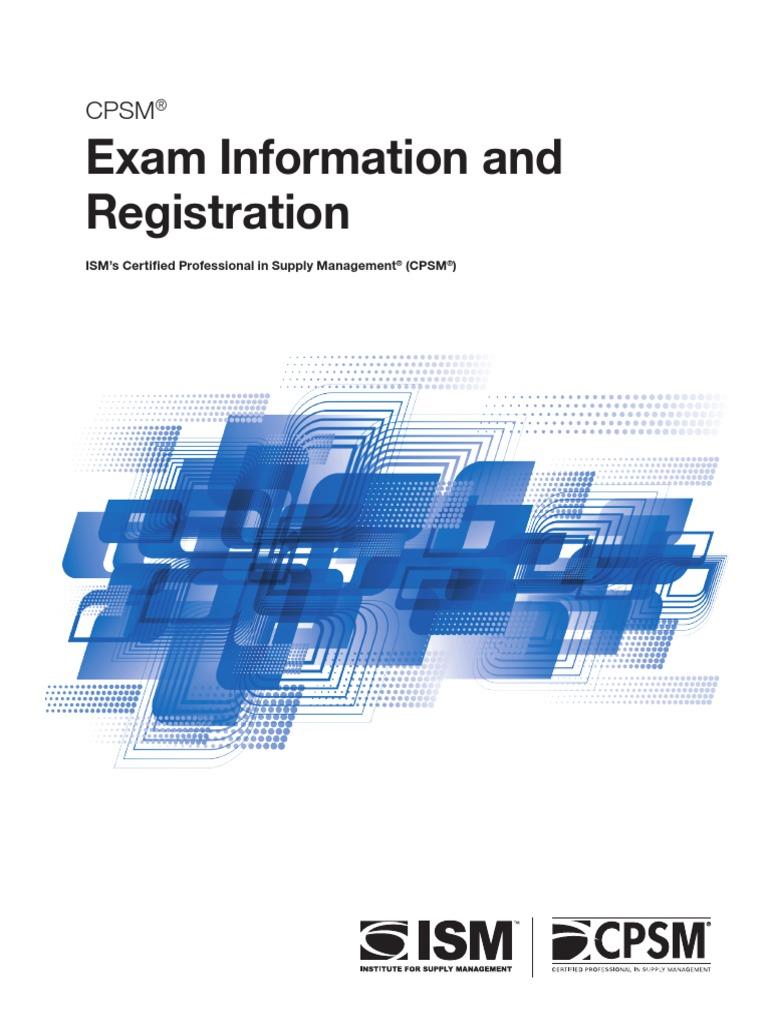 Cps Mexam Reg Info Identity Document Test Assessment