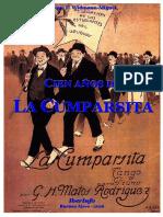 CIEN AÑOS DE LA CUMPARSITA-Enrique F. Widmann-Miguel (2016)