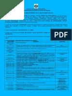 264 Convocacao Para Assinatura de Contrato Processo Seletivo Simplificado SESAU Edital 209 2015 Vagas Remanescentes