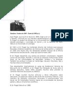 Biografía de Piaget
