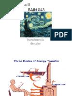 Clase Transferencia de calor