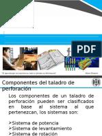 componentes del Taladro de Perforacion y fabricantes