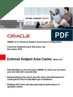 OBIEE 12.2.1 External Subject Area Cache Configuration