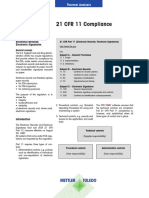 21CFR11 Compliance Metler