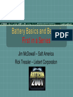 Battery Basics & Beyond