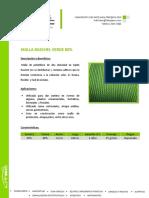 Malla Raschel Verde 80%