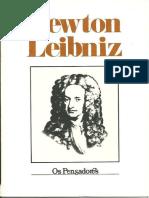 Newton, Liebniz - Os Pensadores