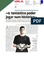 Entrevista a André Moreira